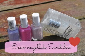 Swatches: Lovie dovie, Neo whimsical en Lilacism van Essie