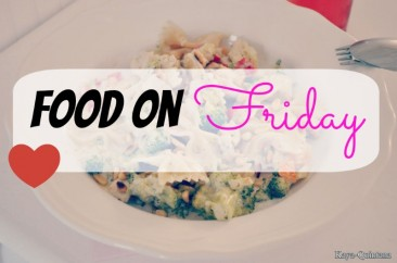 Food on friday: Pasta met witte saus