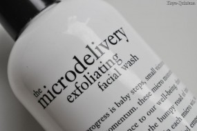 Review: The microdelivery exfoliating facial wash van Philosophy
