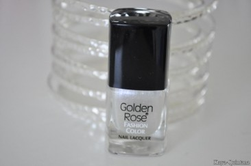 Nagels: Golden rose fashion color nail lacquer
