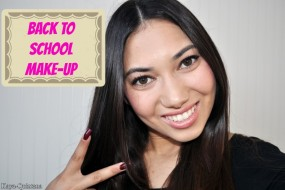 Look of the day: Back to school make-up look