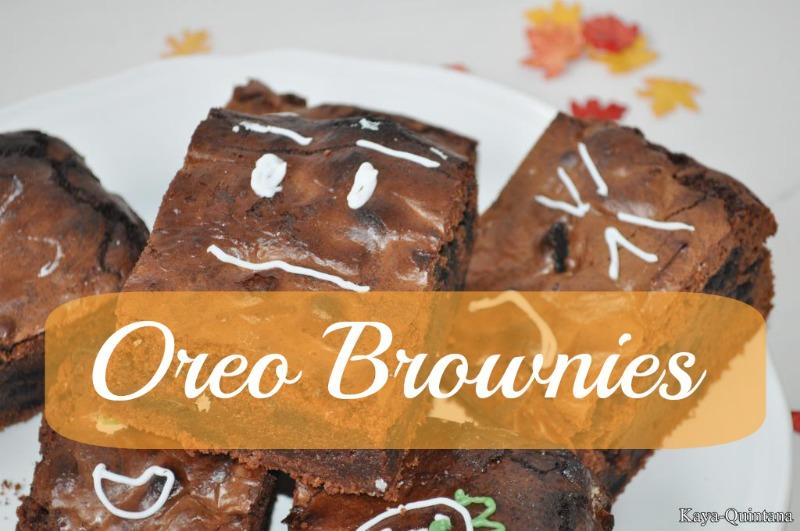 Oreo brownies recept