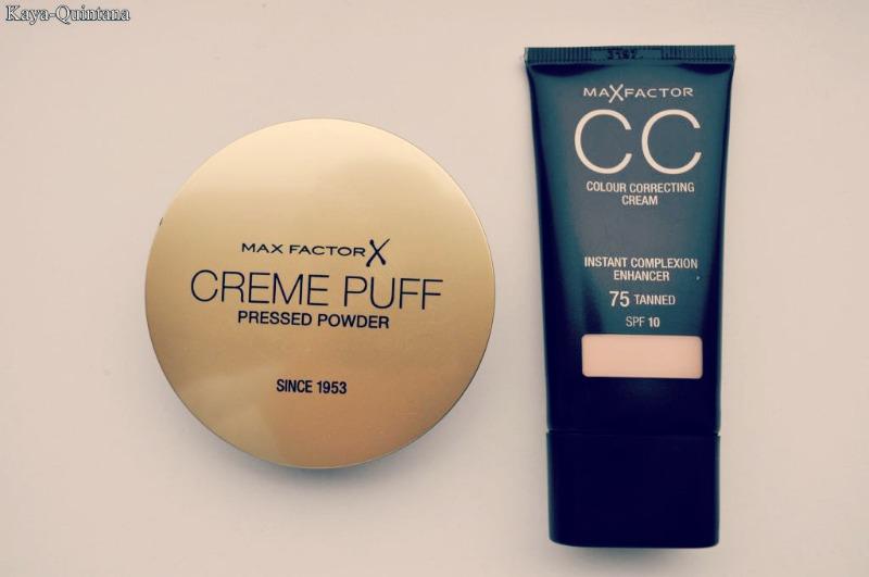 max factor creme puff en cc cream