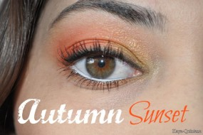 Look of the day: Autumn sunset met het ELF beauty book