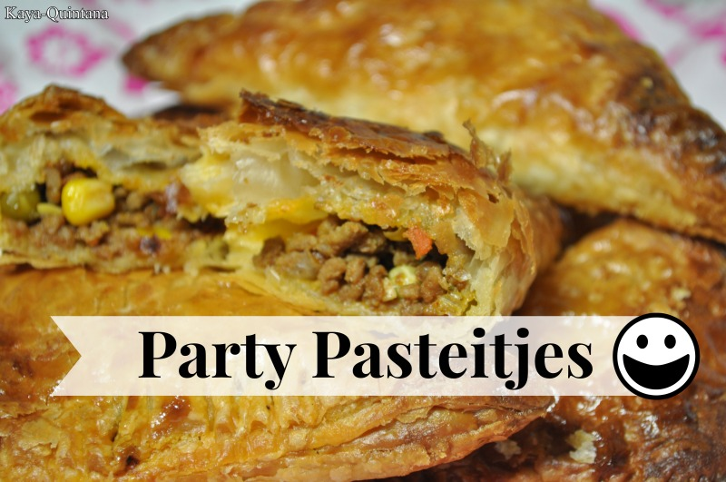 party pasteitjes, food on friday