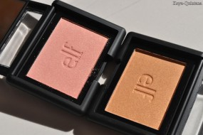 Make-up: ELF glitter studio blushes