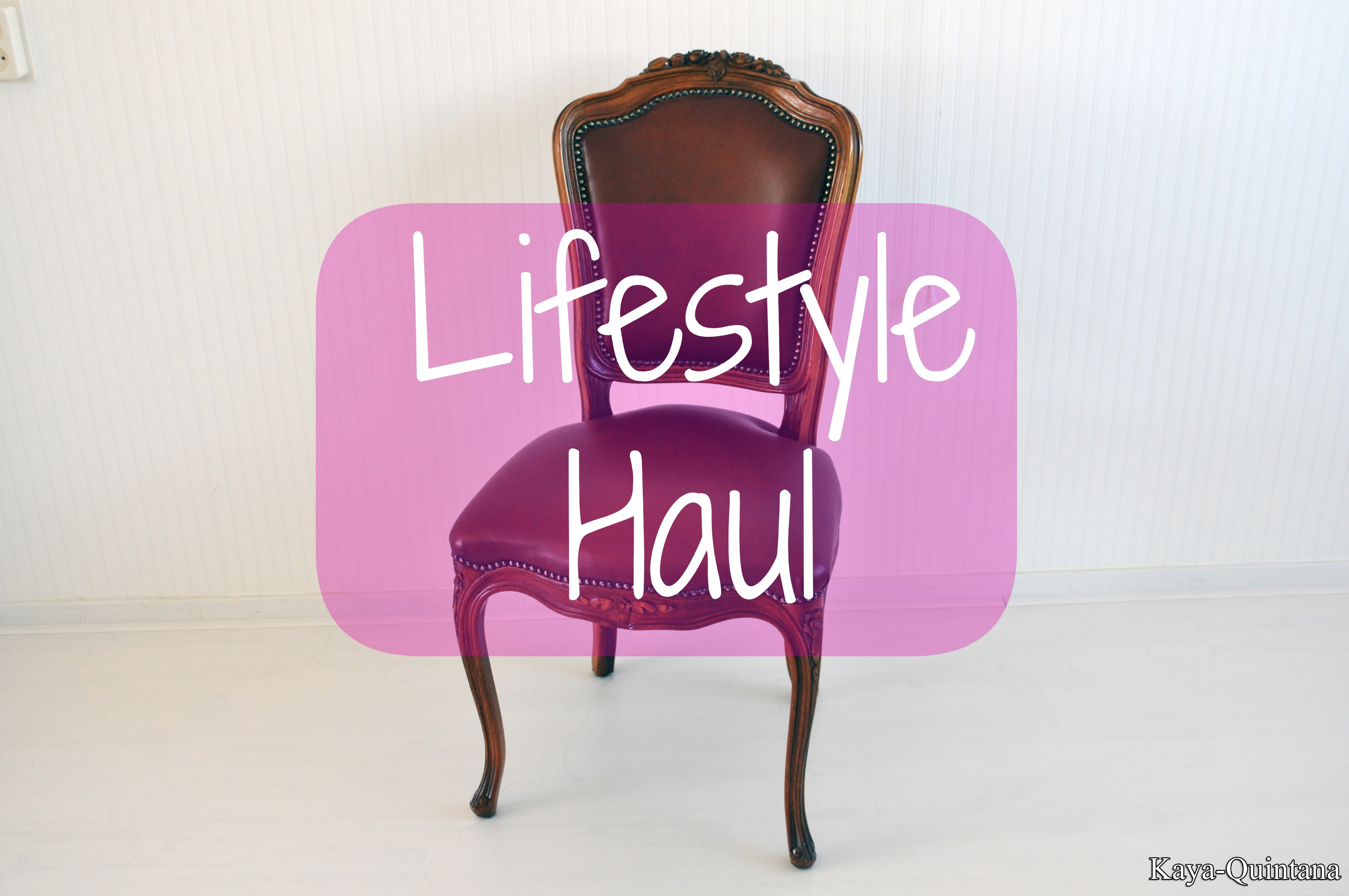 lifestyle haul