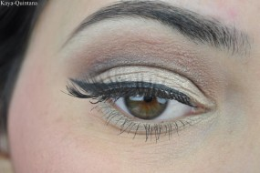 Look of the day: Bambi eyes make-up look