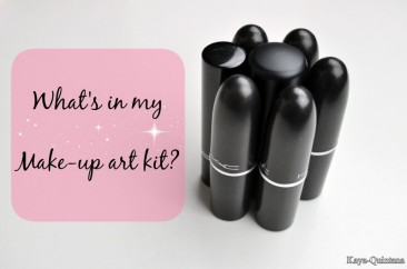 Make-up artist: What's in my make-up art kit?