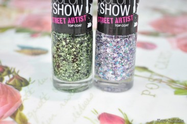 Nagels: Maybelline color show street artist top coat