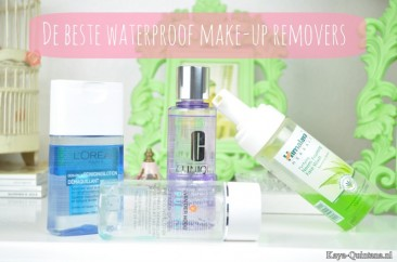 Huidverzorging: De beste waterproof make-up removers
