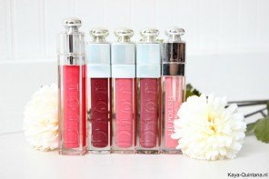 Make-up: Dior lipgloss collectie