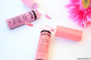 Make-up: NYX Butter gloss in Éclair en Apple strudel