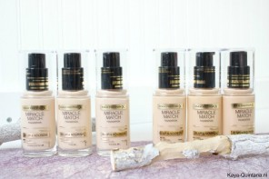 Video: Eerste indruk Max Factor Miracle match foundation