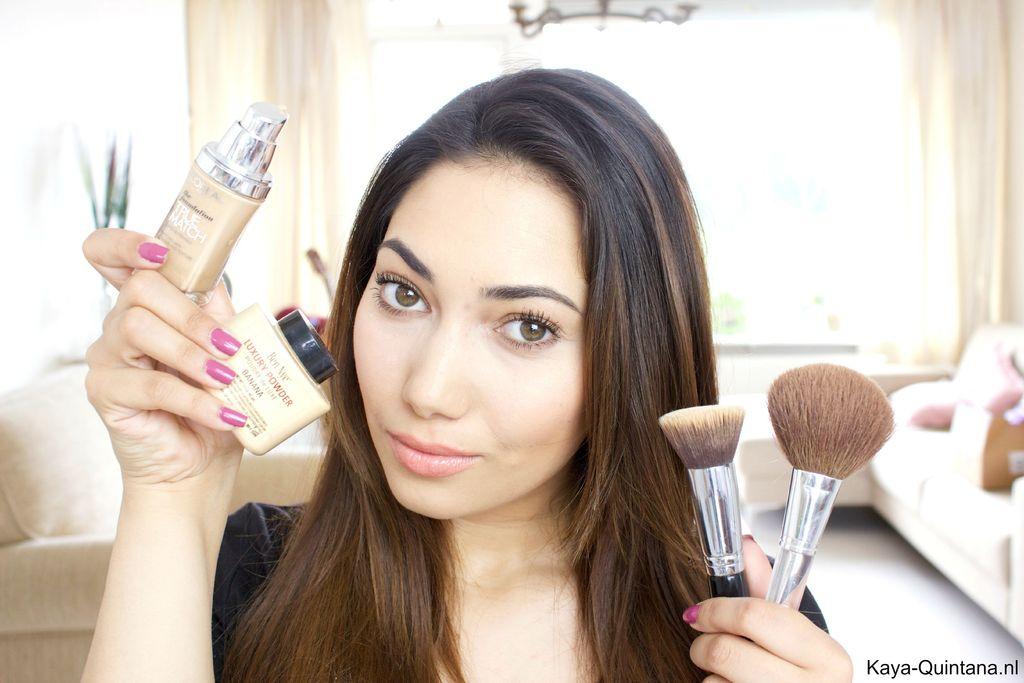 basis makeup routine