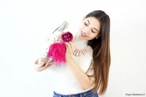 Fashion: Bag bugs en pom poms