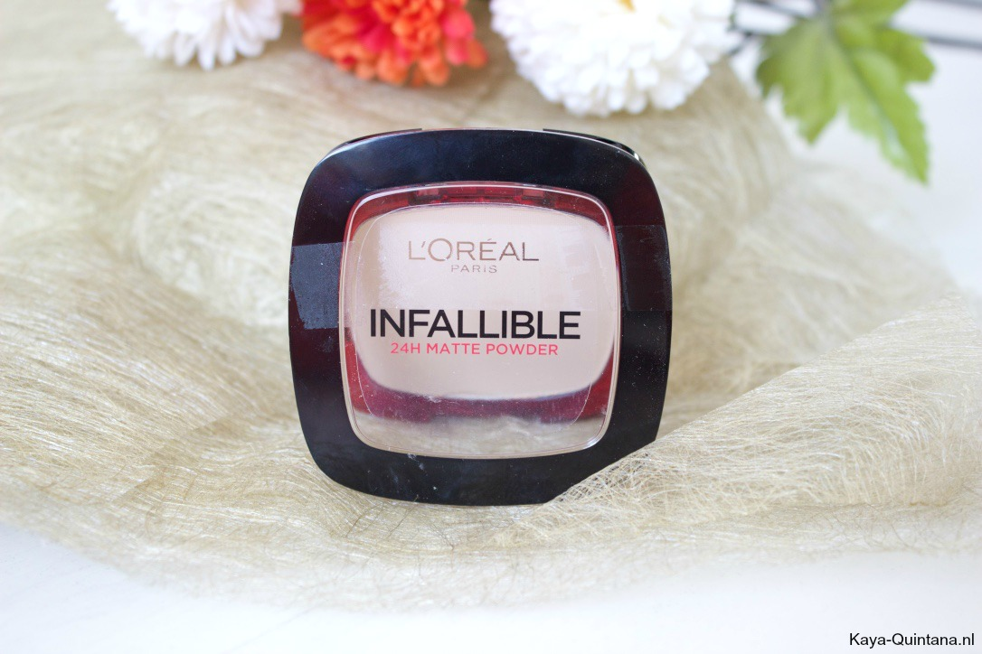 L'oreal Infallible 24H matte powder
