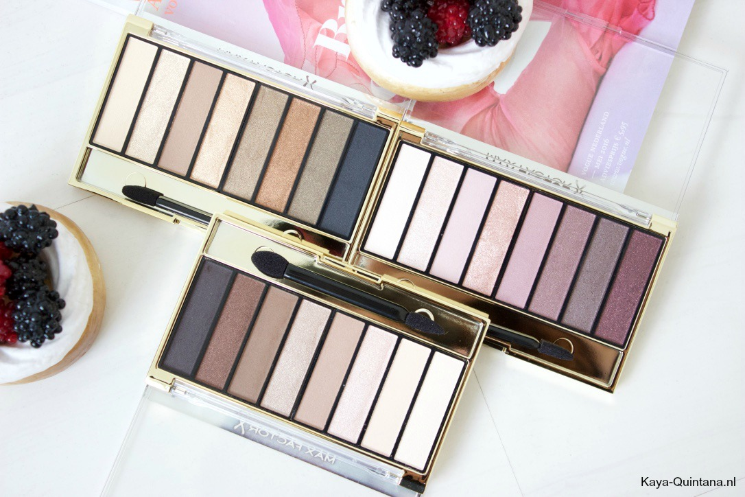 Max Factor Masterpiece Nude Palettes, Cappuccino Nudes and