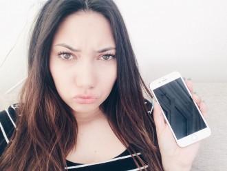 mijn iphone is stuk