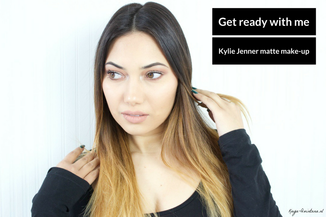 kylie jenner matte make-up