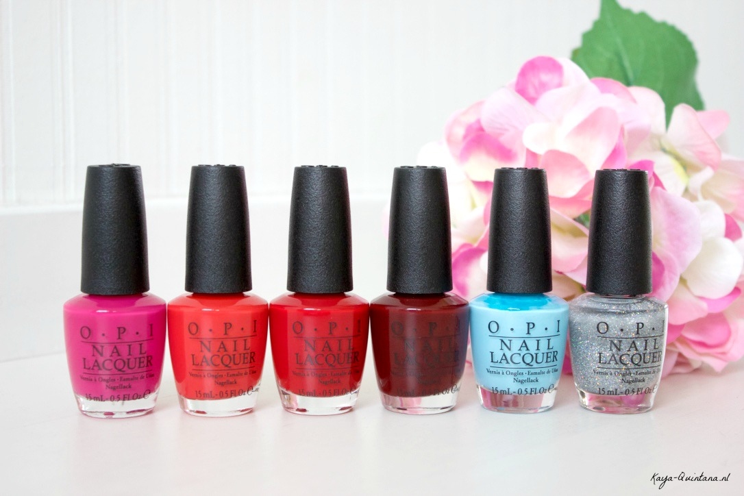 OPI Breakfast at Tiffany's collectie