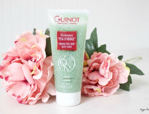 Guinot Orange peel skin body scrub