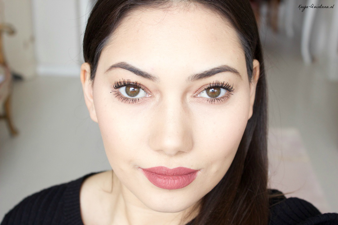 winter make-up routine