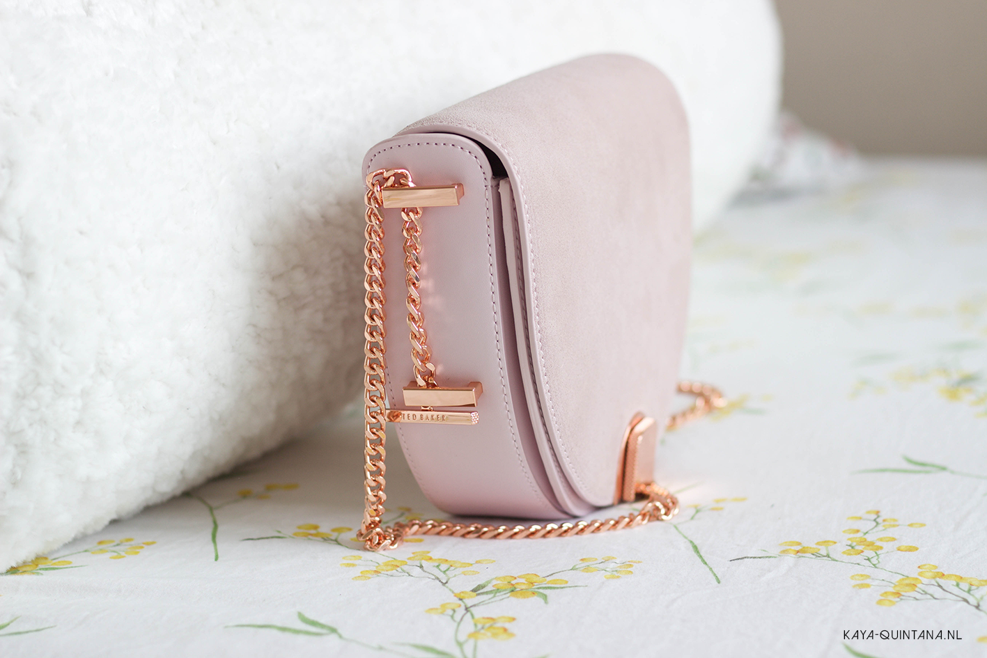 suede ted baker crossbody bag