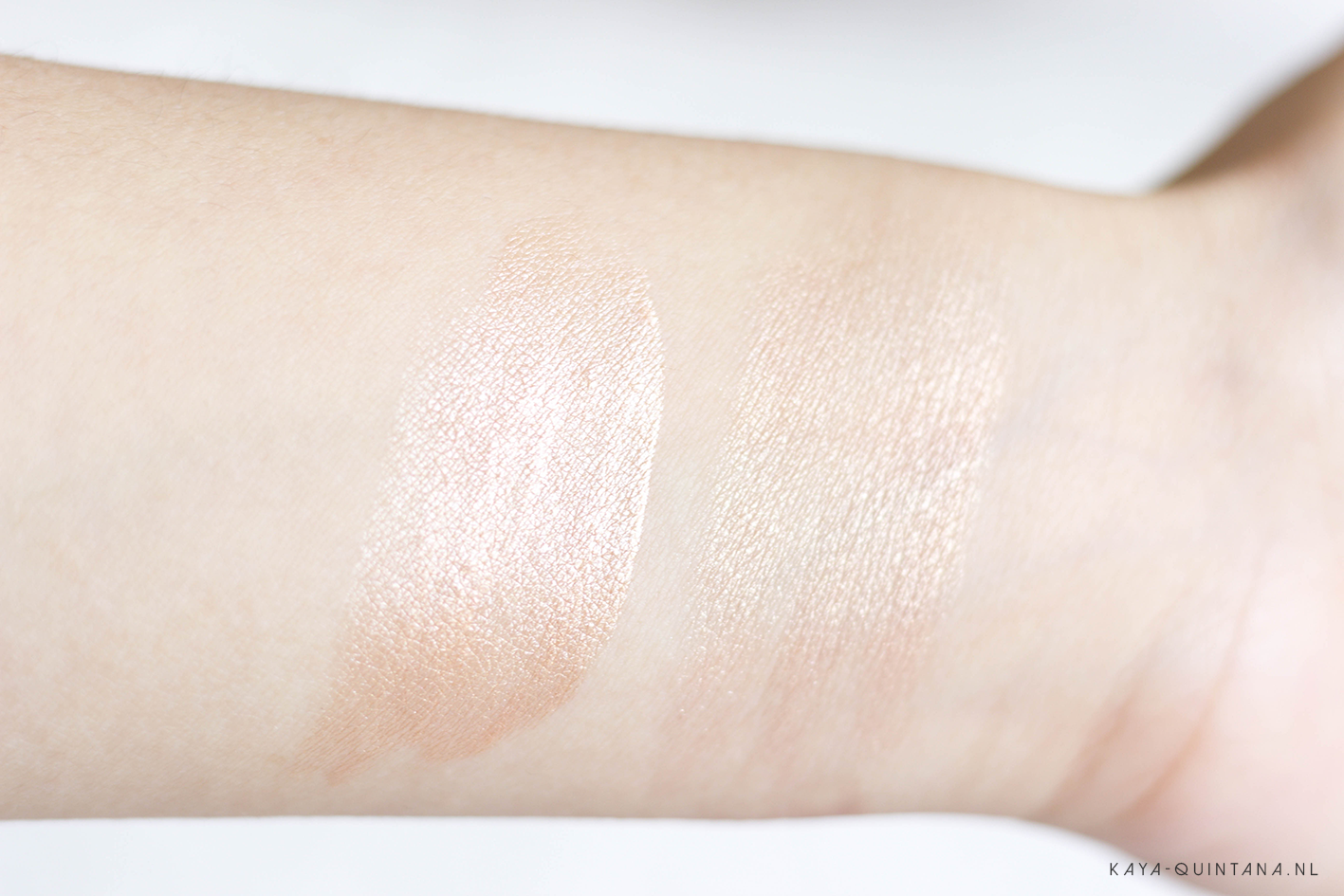 becca highlighter opal swatches