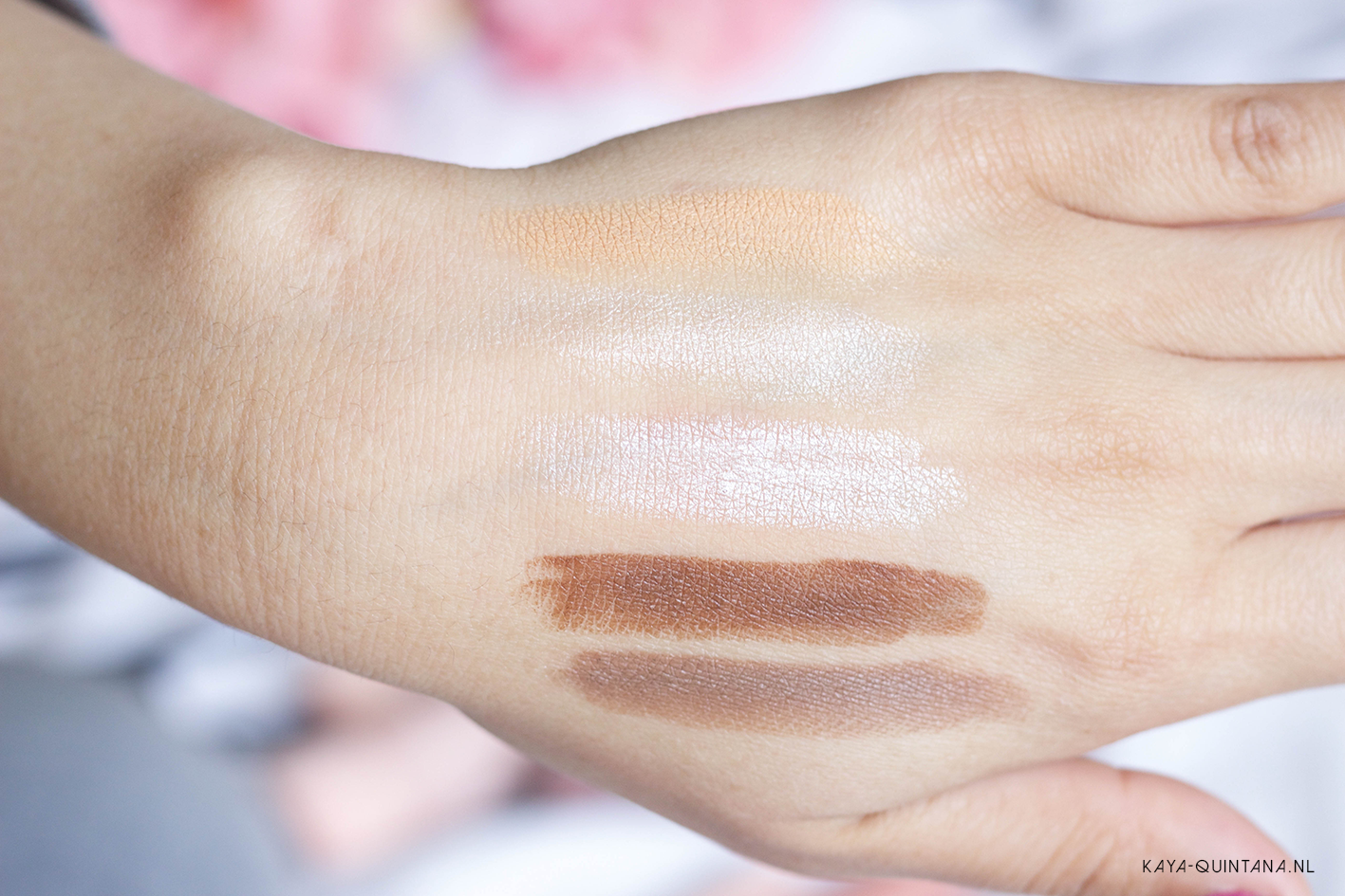 primark beauty nudes collection swatches
