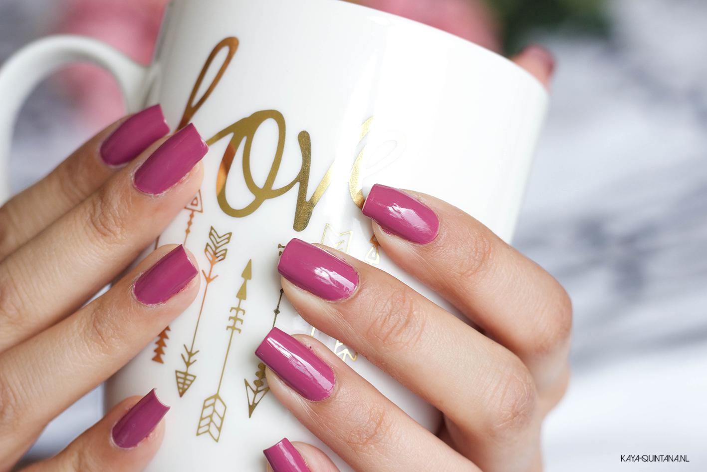 pink opi nail polish