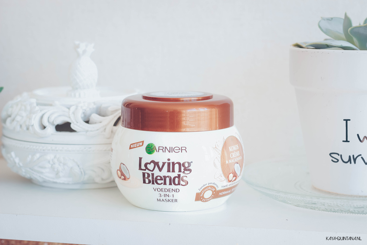Coconut Milk & Macadamia hair mask by Garnier