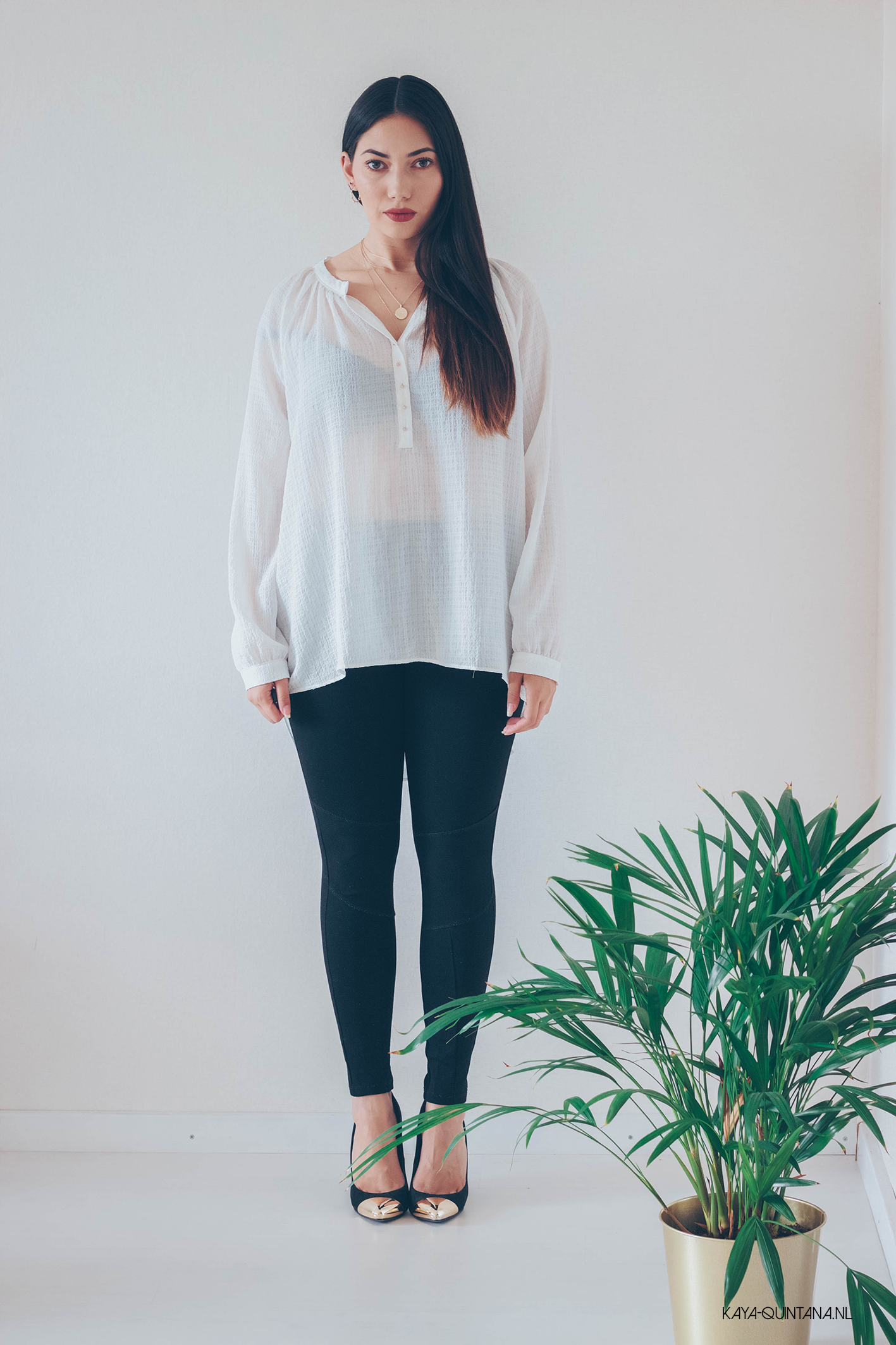 oversized blouse outfit
