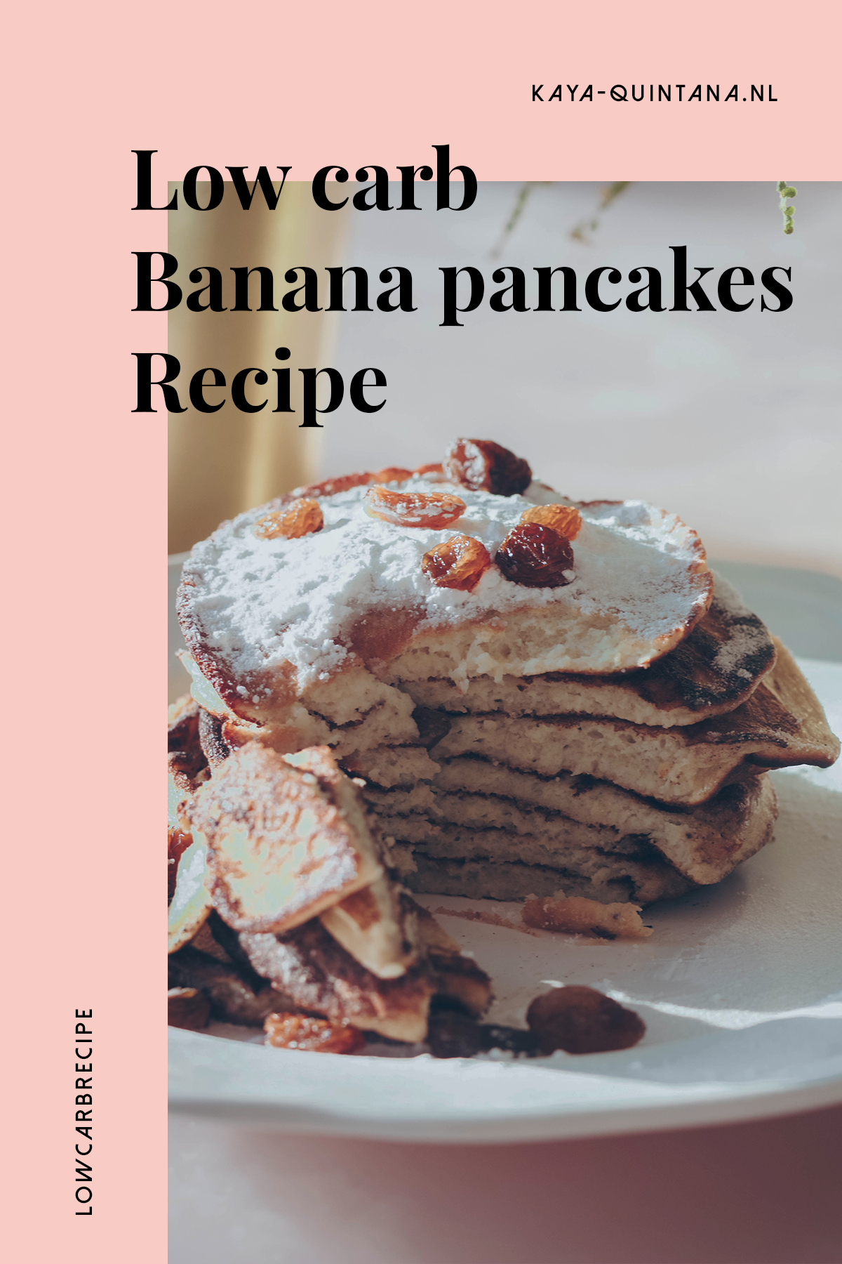 low carb banana pancakes recipe