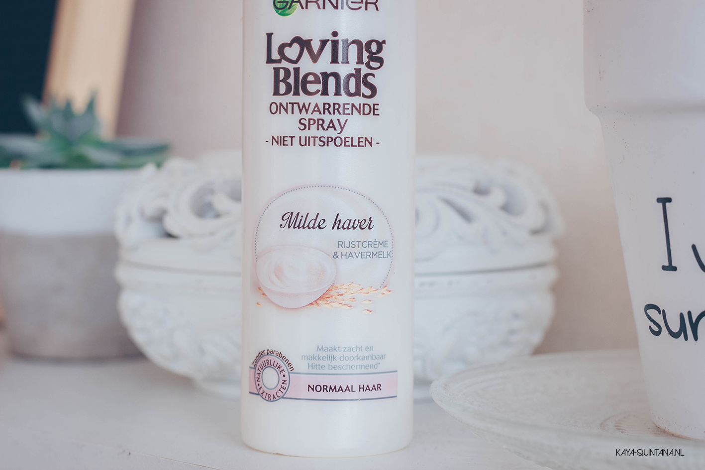 Garnier Whole Blends Gentle detangling hair milk