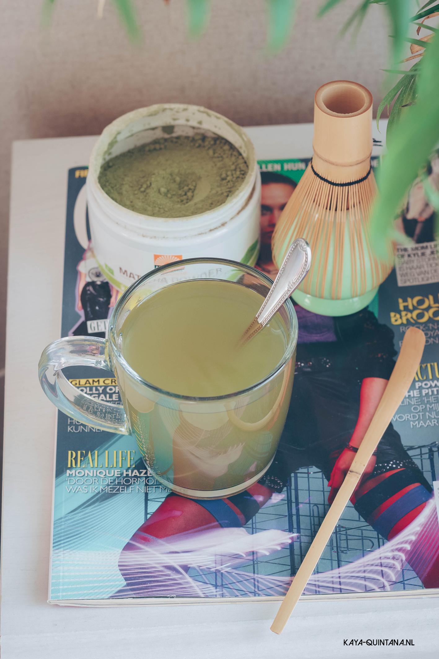 Matcha tea experience