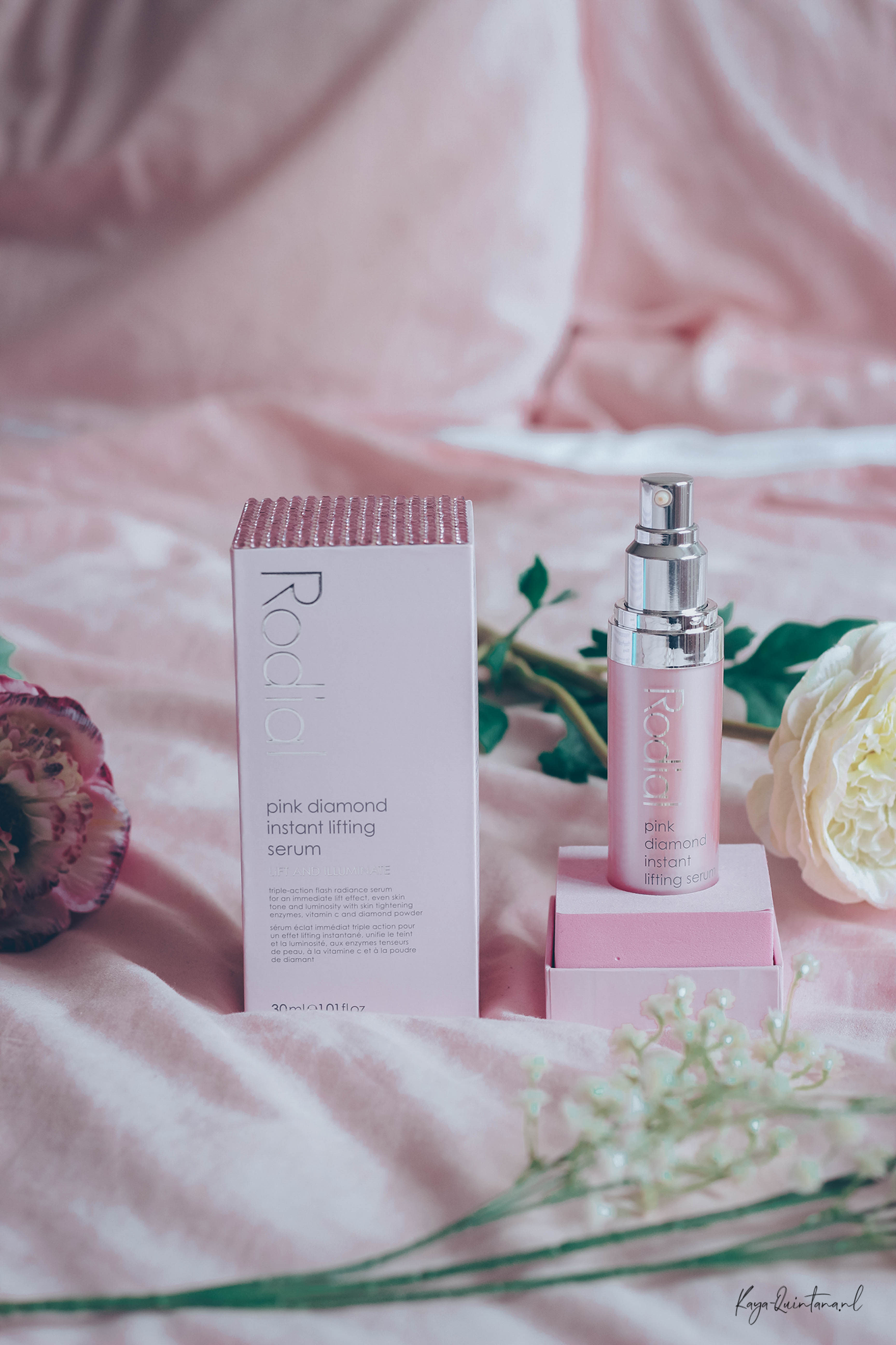 Rodial Pink diamond instant lifting serum review