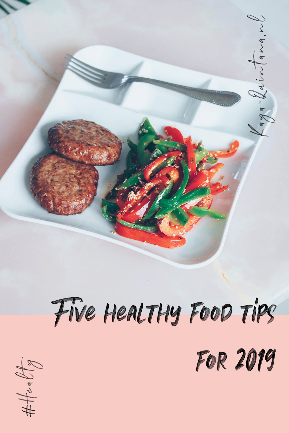 Five healthy food tips for 2019