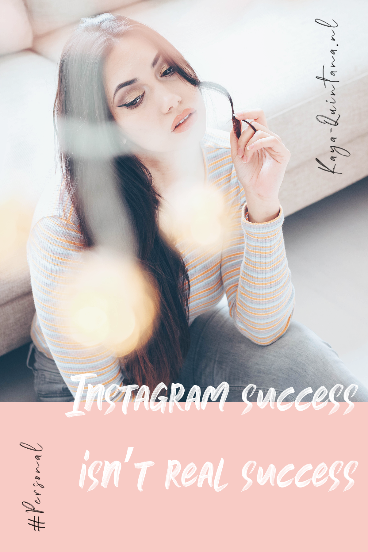 Instagram success isn't real success