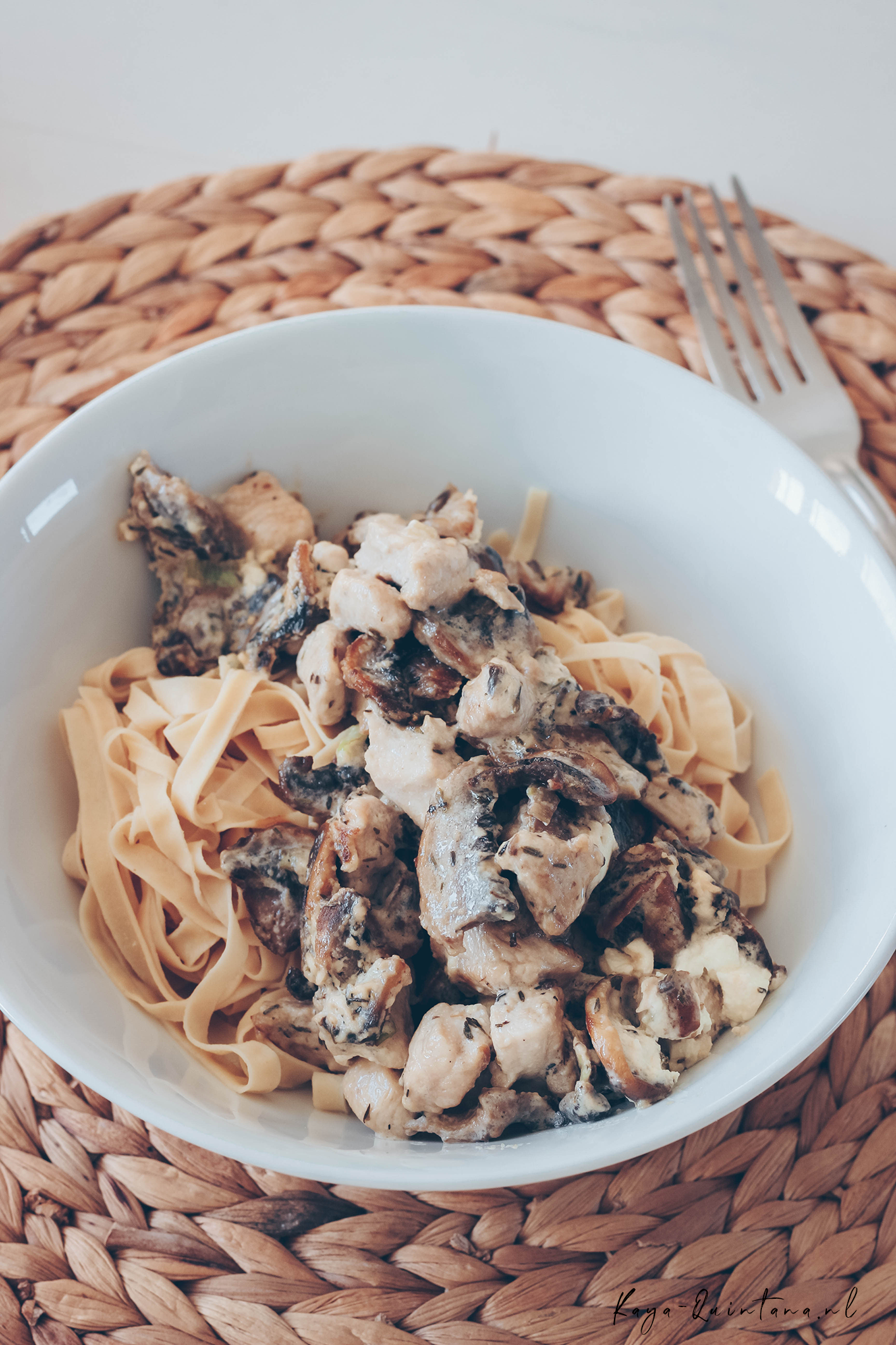 low carb pasta with chicken