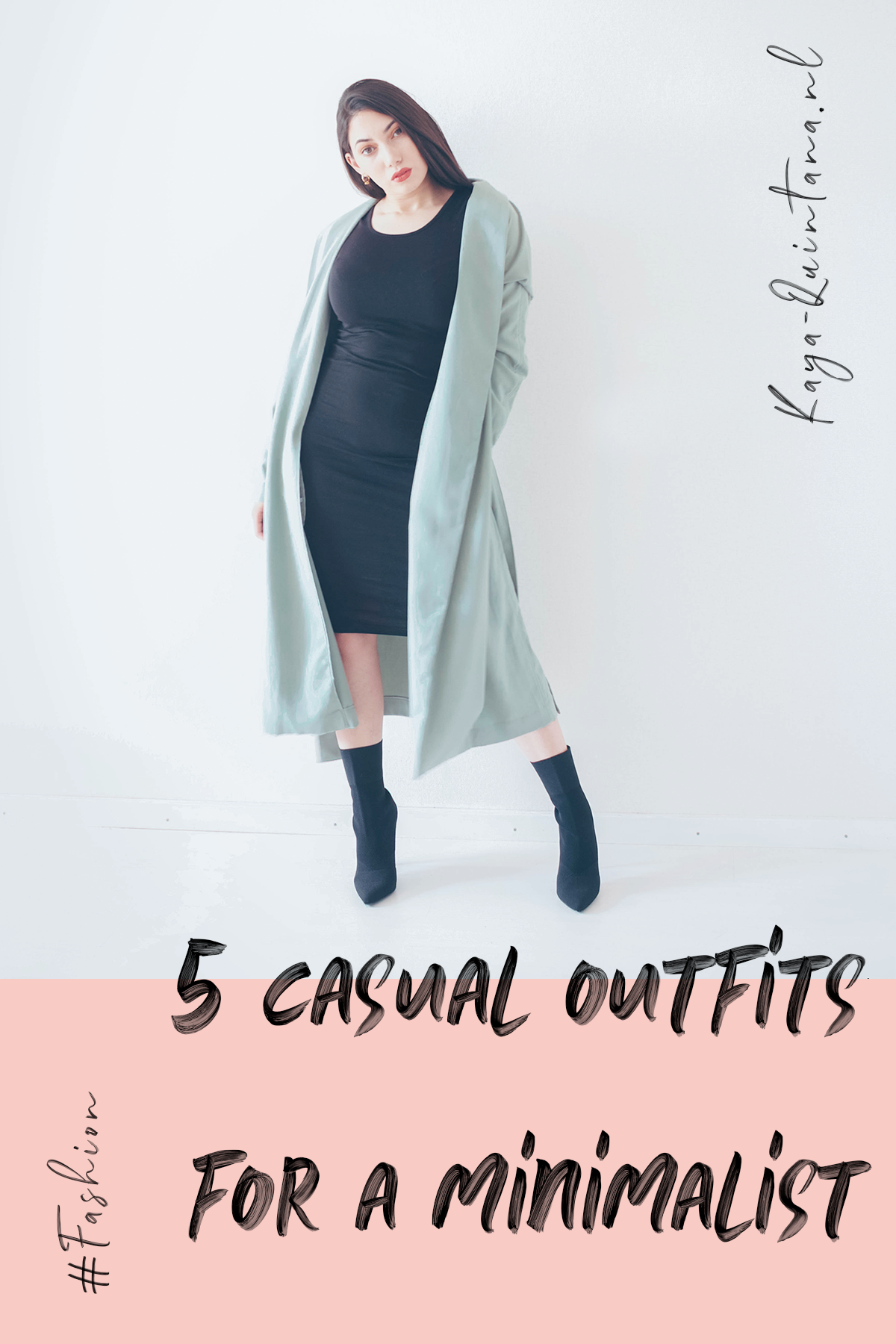 five casual outfits for a minimalist
