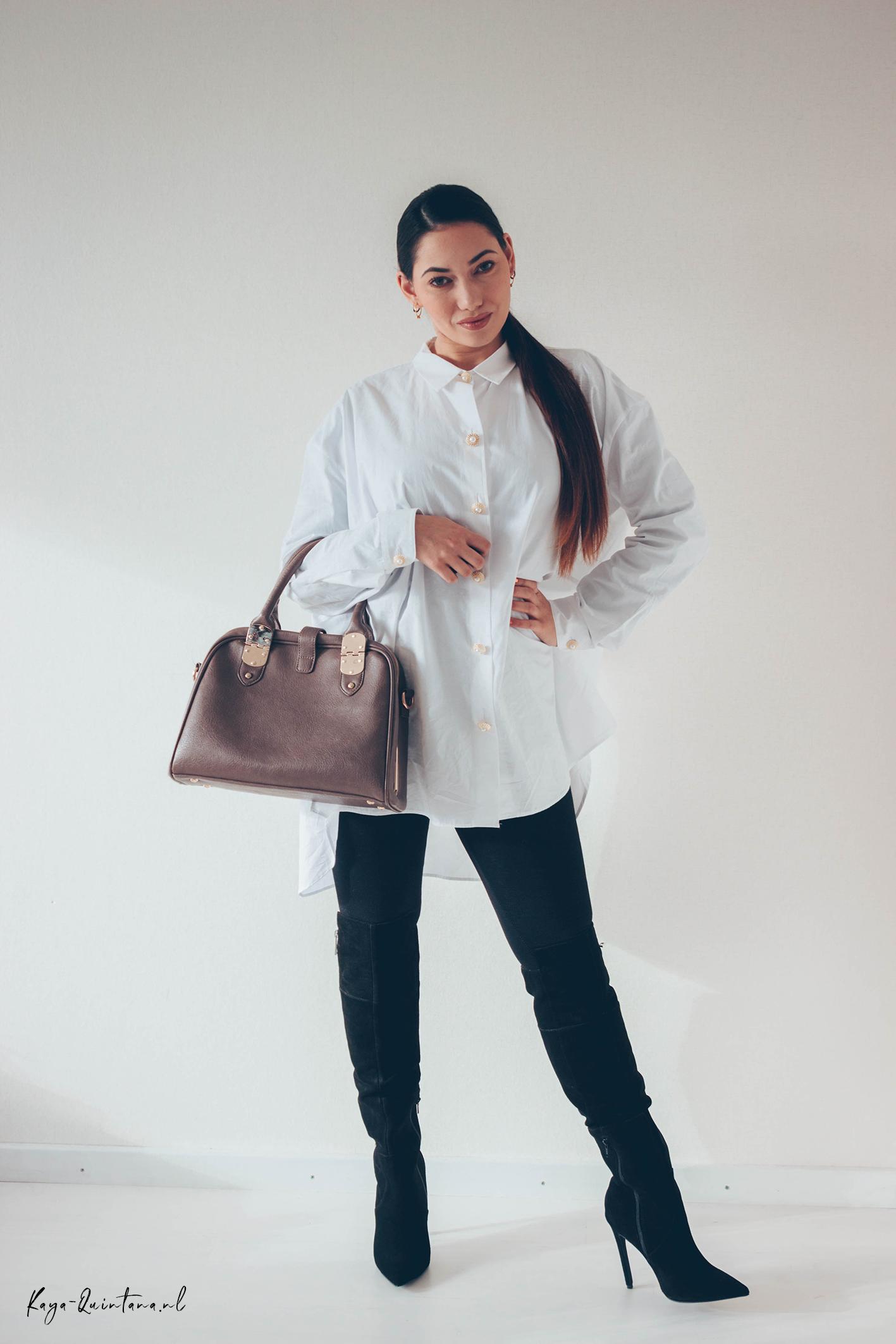 dune handbag outfit