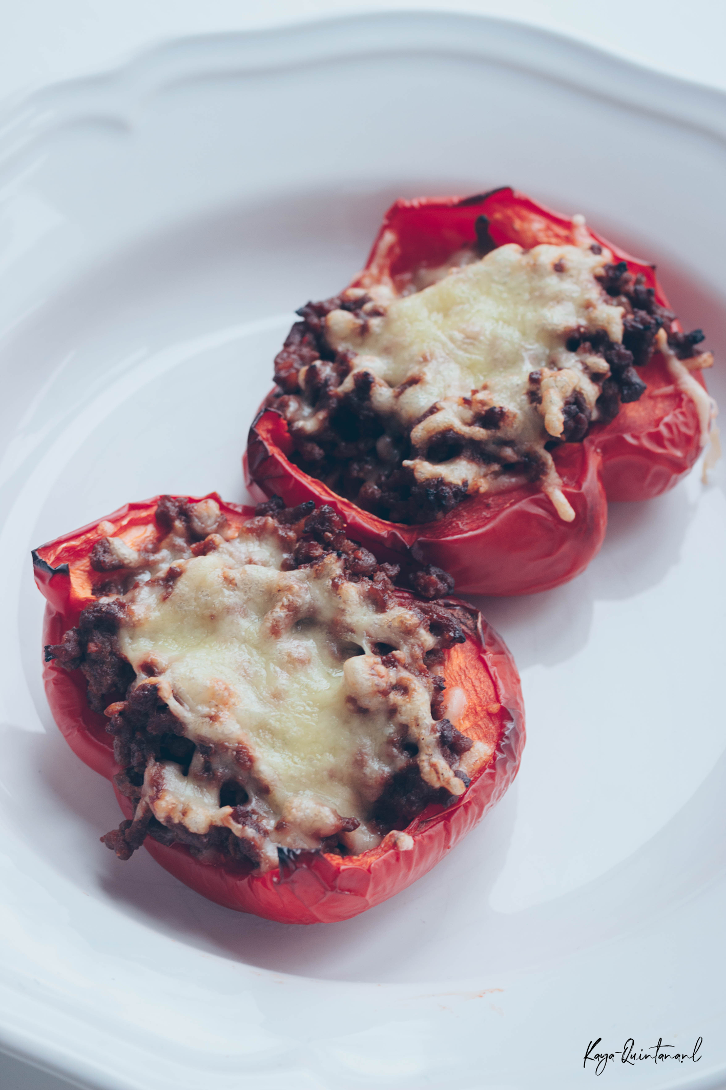 stuffed low carb and keto stuffed bell peppers