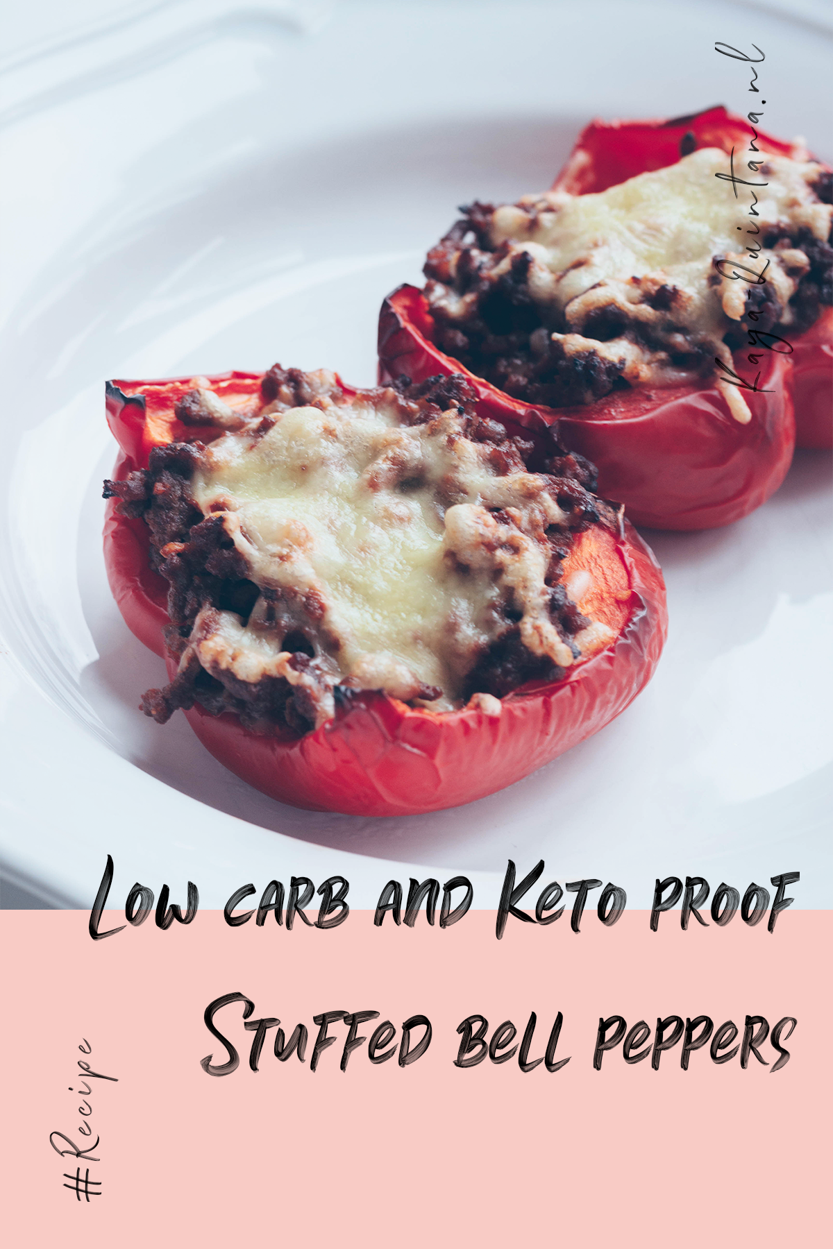 low carb and keto proof stuffed bell peppers