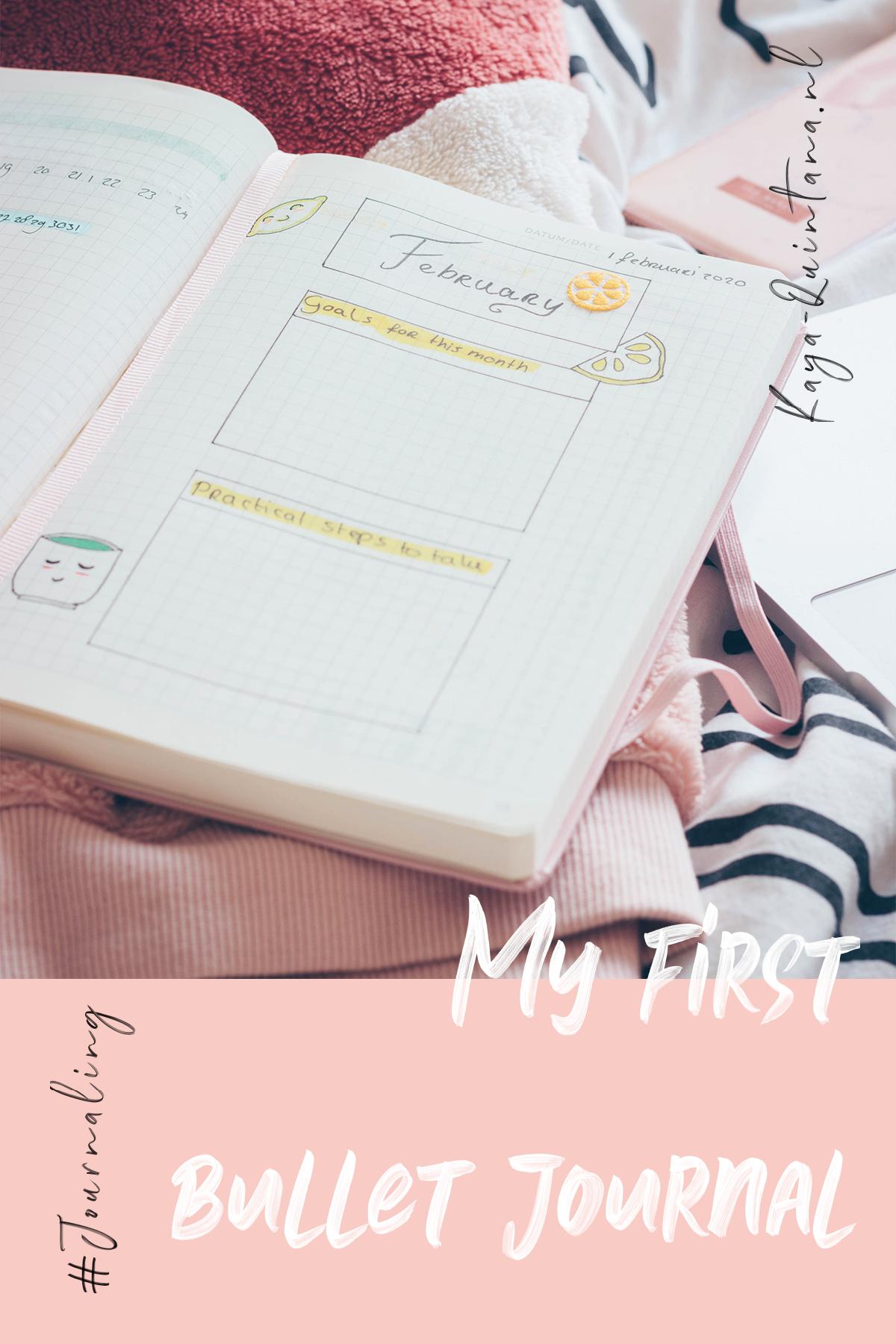 my first bullet journal