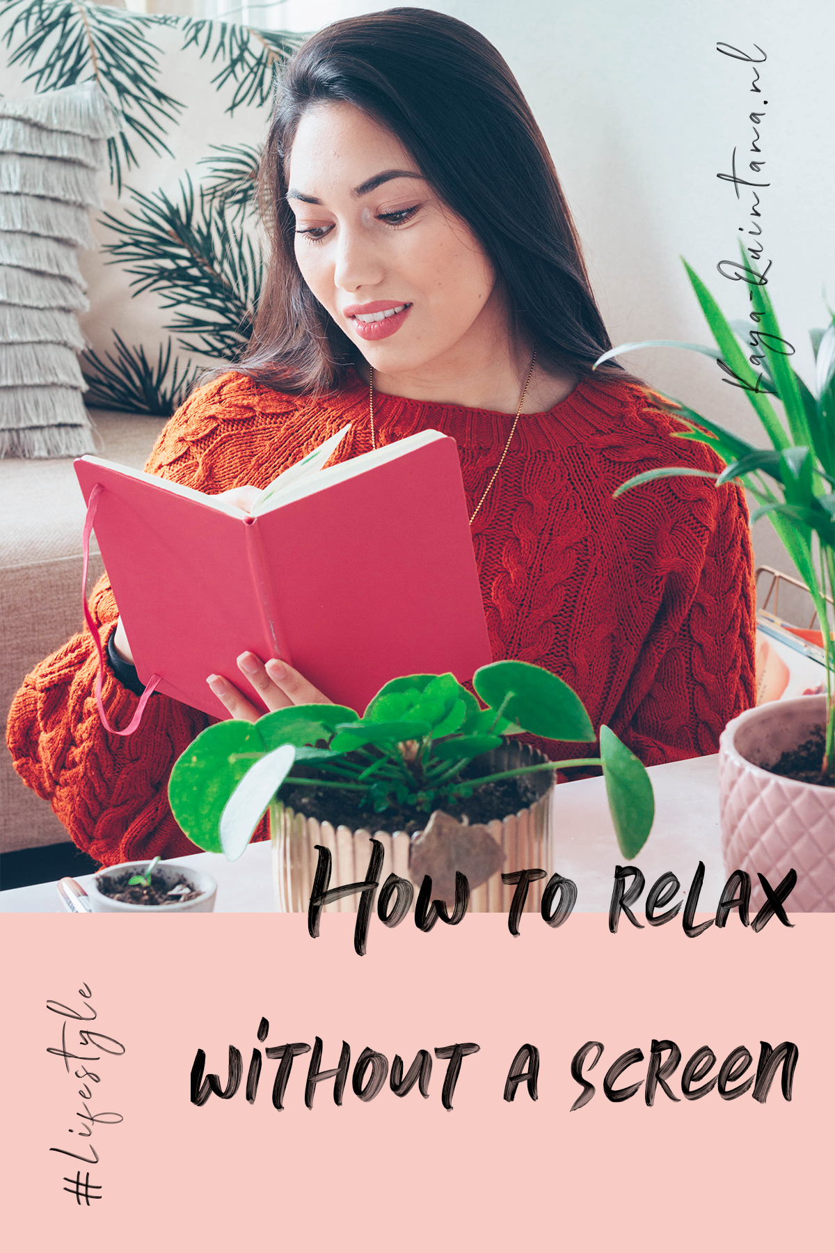 how to relax without a screen