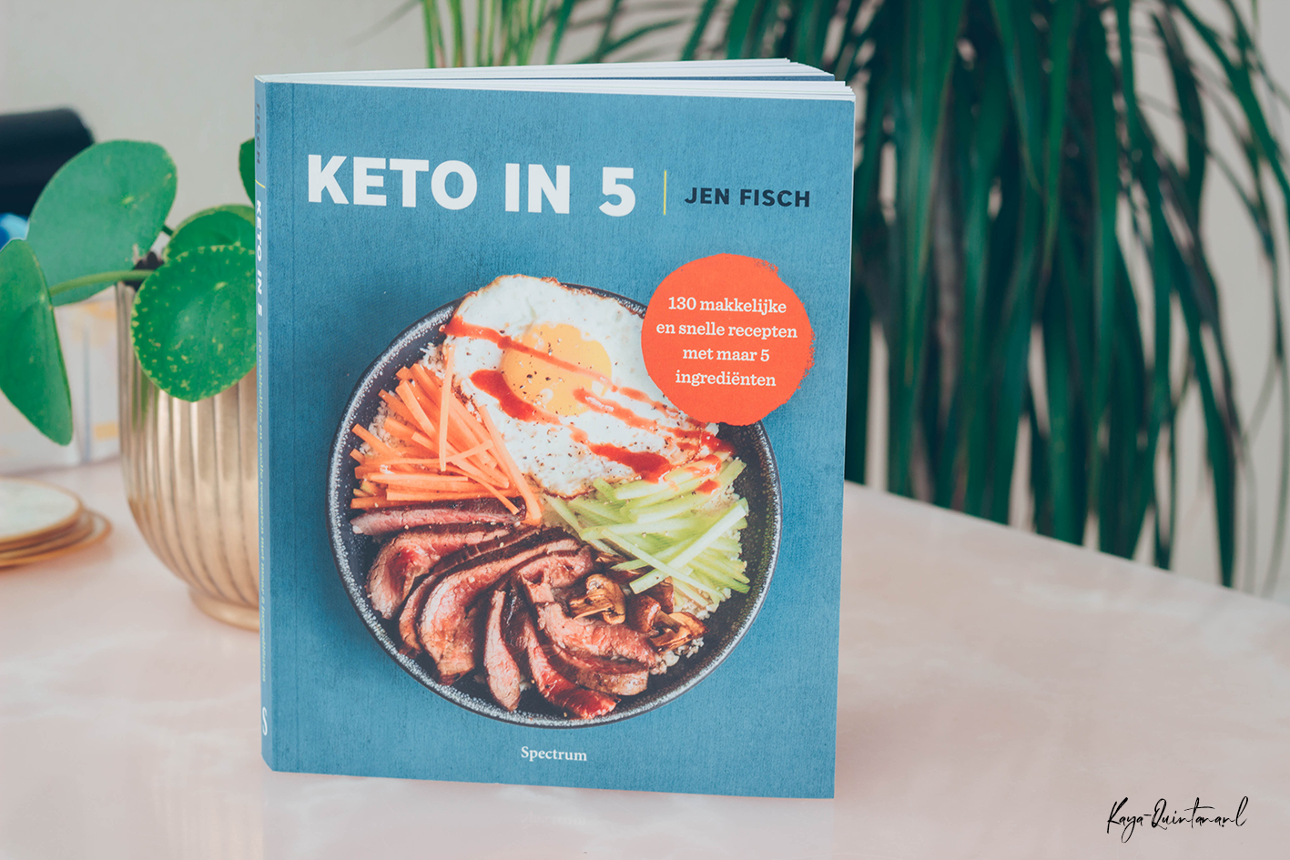keto in 5 kookboek review