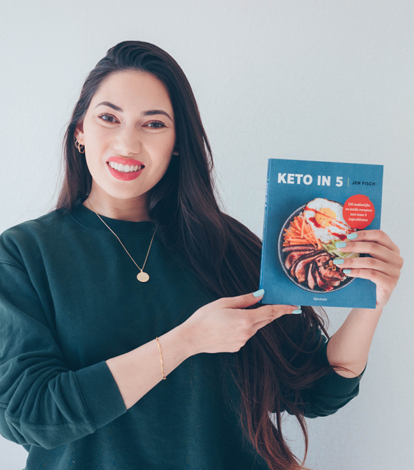 keto in 5 cookbook