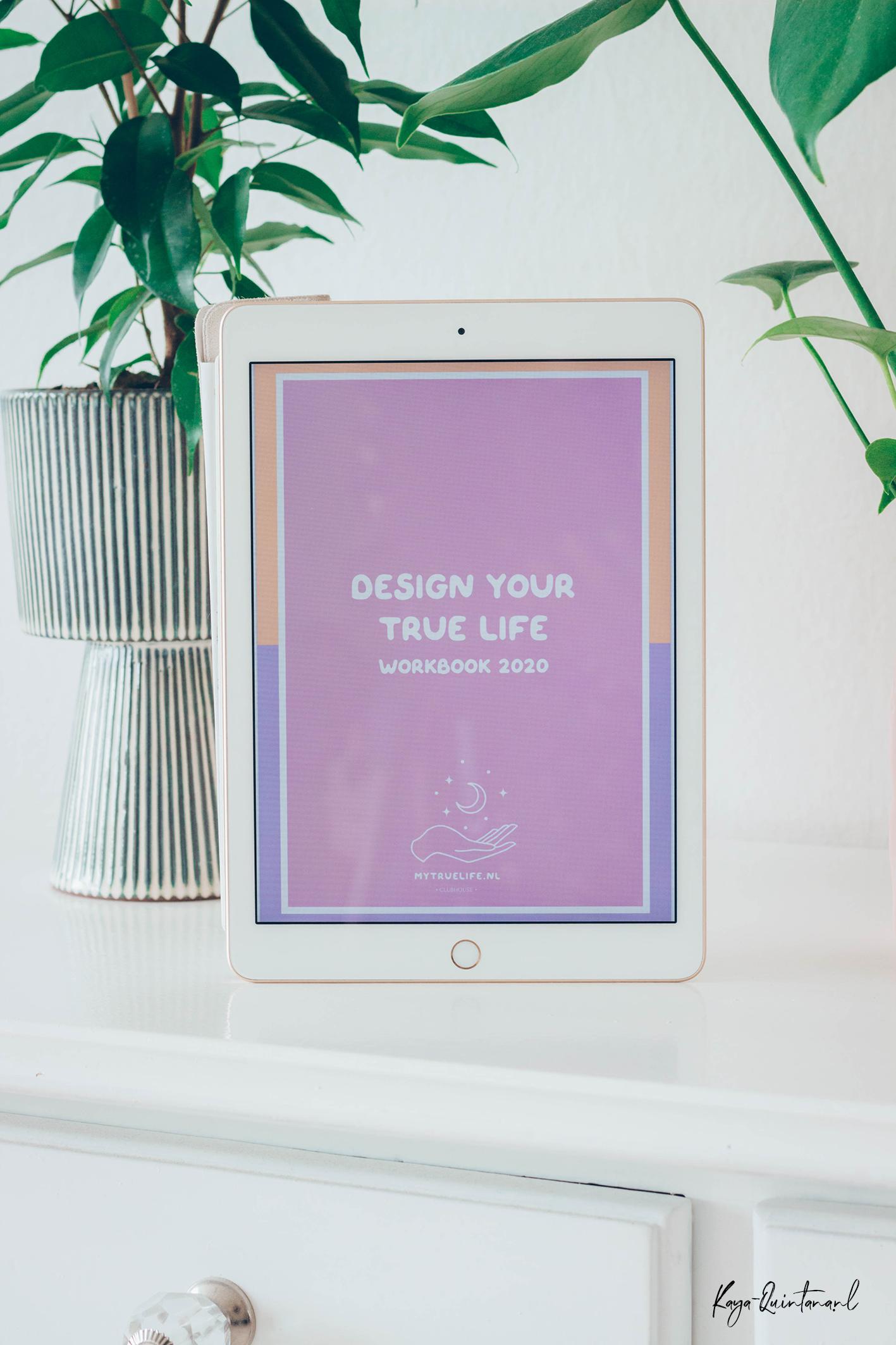 Design your true life workbook