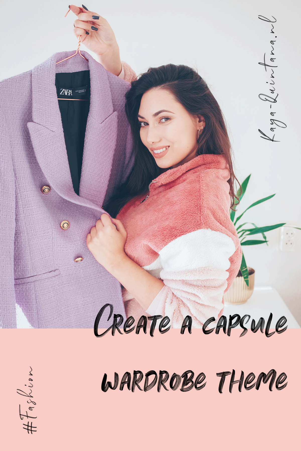 How to create a capsule wardrobe theme